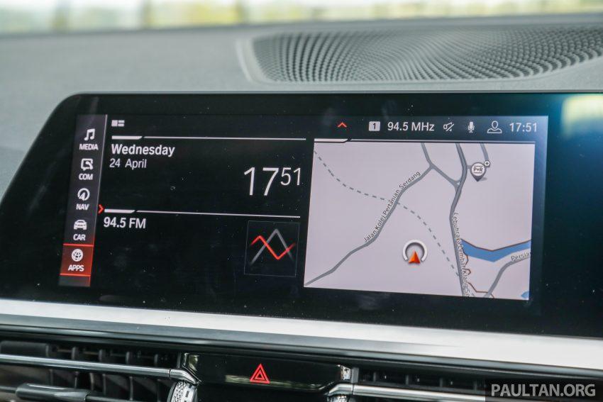 新车试驾:G20 BMW 330i M Sport,操控驾驶迷的首选! Image #104587