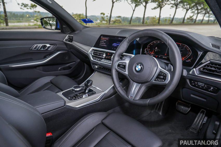 新车试驾:G20 BMW 330i M Sport,操控驾驶迷的首选! Image #104570