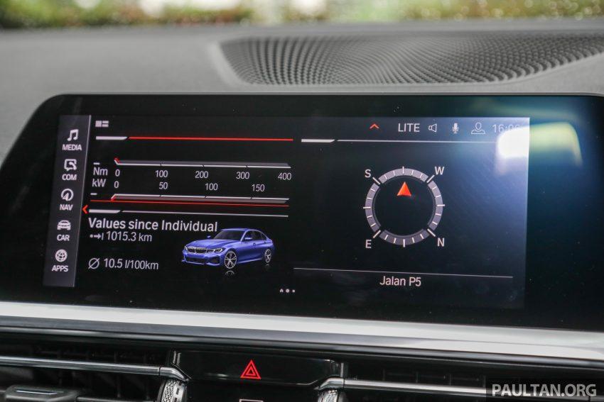 新车试驾:G20 BMW 330i M Sport,操控驾驶迷的首选! Image #104588