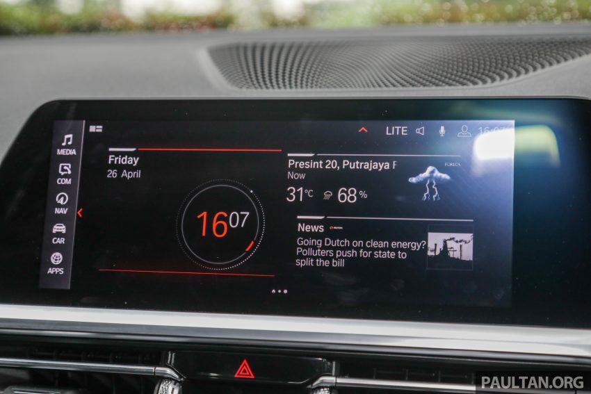 新车试驾:G20 BMW 330i M Sport,操控驾驶迷的首选! Image #104589