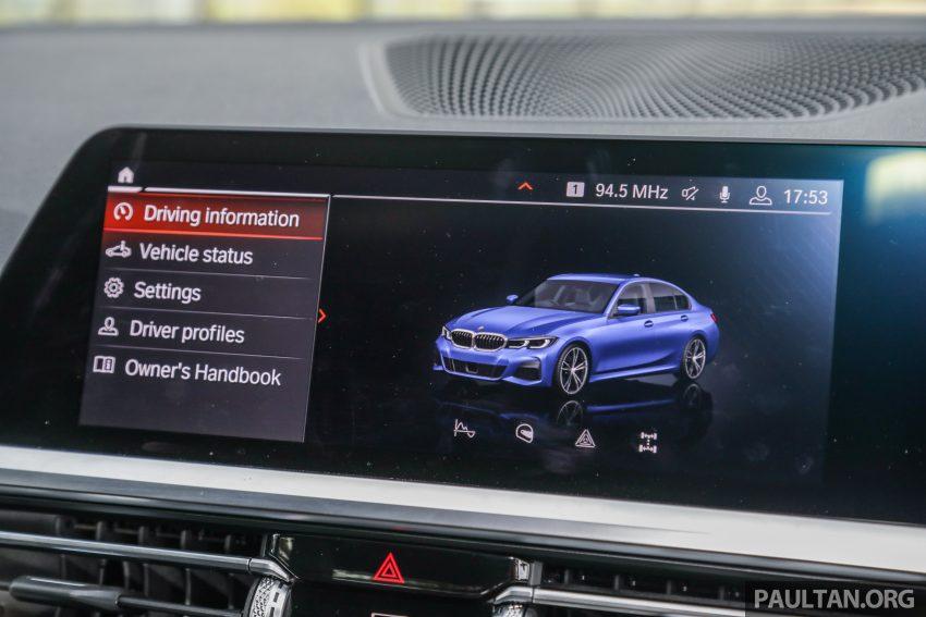 新车试驾:G20 BMW 330i M Sport,操控驾驶迷的首选! Image #104591