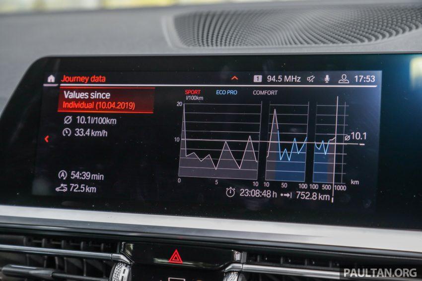 新车试驾:G20 BMW 330i M Sport,操控驾驶迷的首选! Image #104593