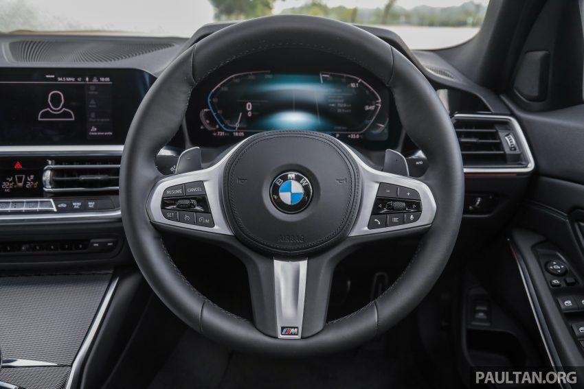 新车试驾:G20 BMW 330i M Sport,操控驾驶迷的首选! Image #104571