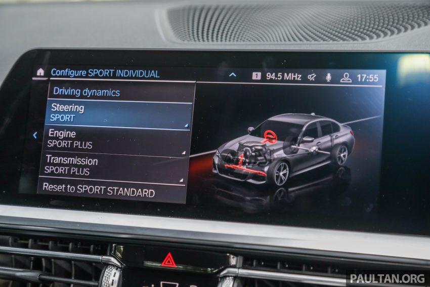 新车试驾:G20 BMW 330i M Sport,操控驾驶迷的首选! Image #104602