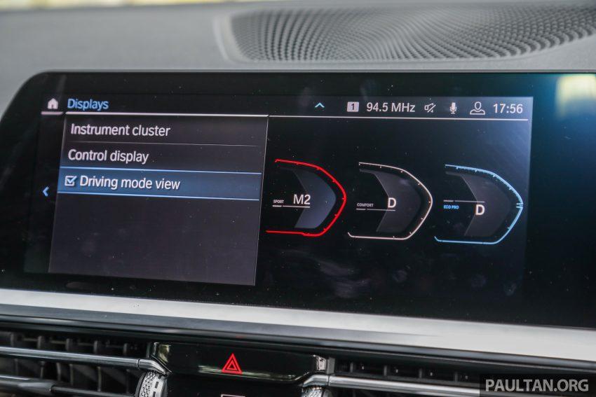 新车试驾:G20 BMW 330i M Sport,操控驾驶迷的首选! Image #104604