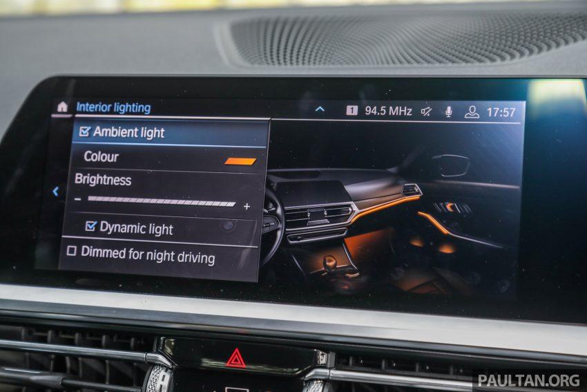新车试驾:G20 BMW 330i M Sport,操控驾驶迷的首选! Image #104606