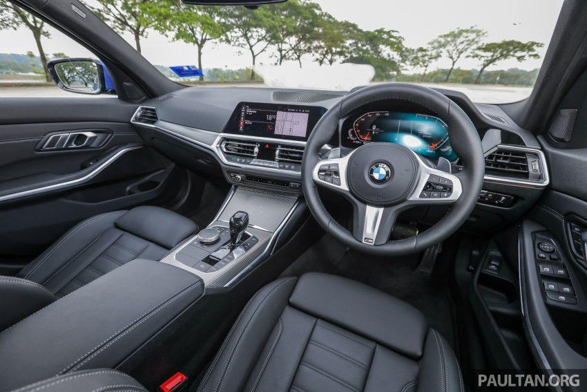 新车试驾:G20 BMW 330i M Sport,操控驾驶迷的首选! Image #104622