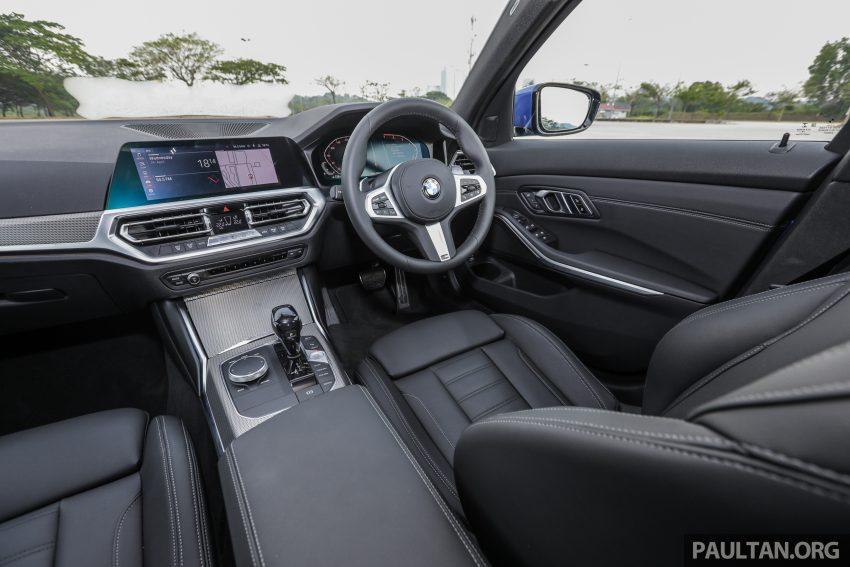 新车试驾:G20 BMW 330i M Sport,操控驾驶迷的首选! Image #104623