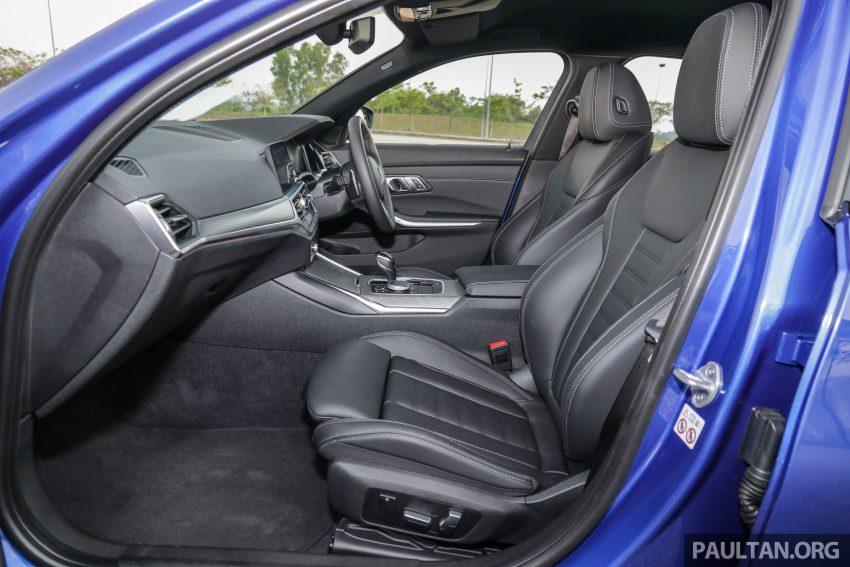 新车试驾:G20 BMW 330i M Sport,操控驾驶迷的首选! Image #104626