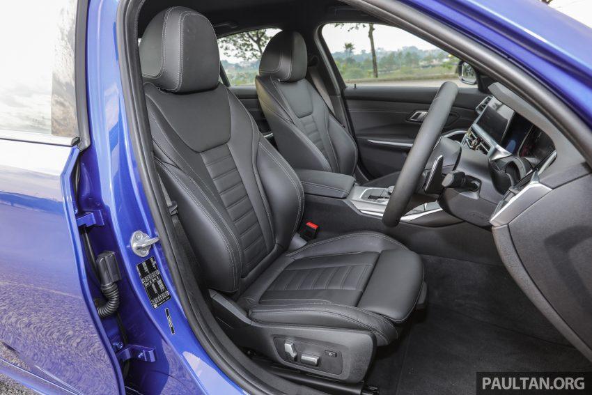 新车试驾:G20 BMW 330i M Sport,操控驾驶迷的首选! Image #104627