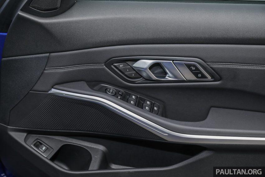 新车试驾:G20 BMW 330i M Sport,操控驾驶迷的首选! Image #104631