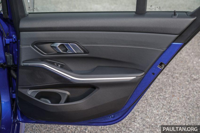 新车试驾:G20 BMW 330i M Sport,操控驾驶迷的首选! Image #104637