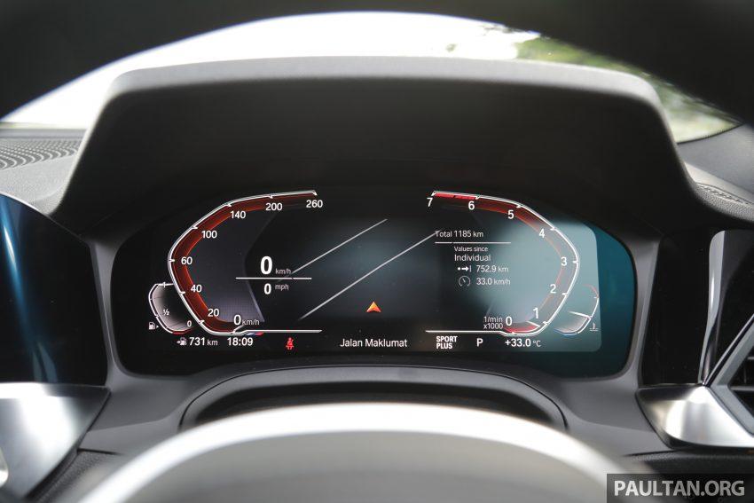 新车试驾:G20 BMW 330i M Sport,操控驾驶迷的首选! Image #104577