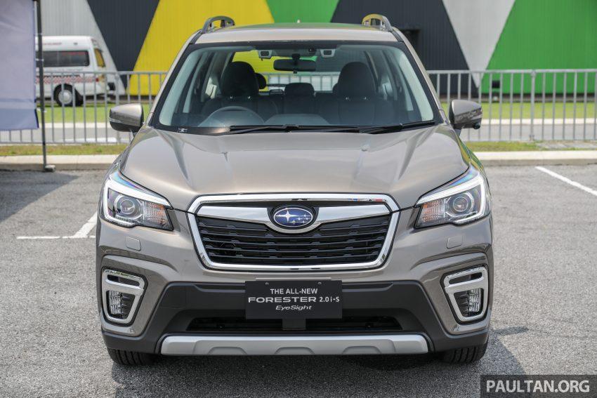 "全新一代""森林人"" 2019 Subaru Forester 本地公开亮相 Image #103427"