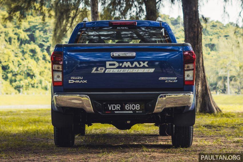 试驾:Isuzu D-Max 1.9 Ddi Blue Power,务实派的首选 Image #106014