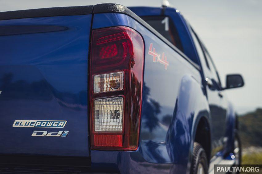 试驾:Isuzu D-Max 1.9 Ddi Blue Power,务实派的首选 Image #106025