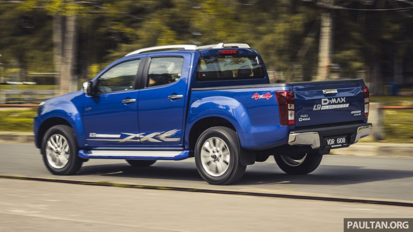 试驾:Isuzu D-Max 1.9 Ddi Blue Power,务实派的首选 Image #106008