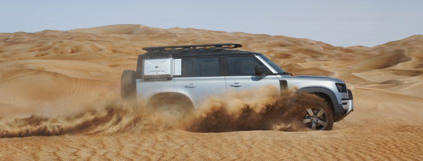 全新 Land Rover Defender 首发,全新外貌与科技内装 Image #105356
