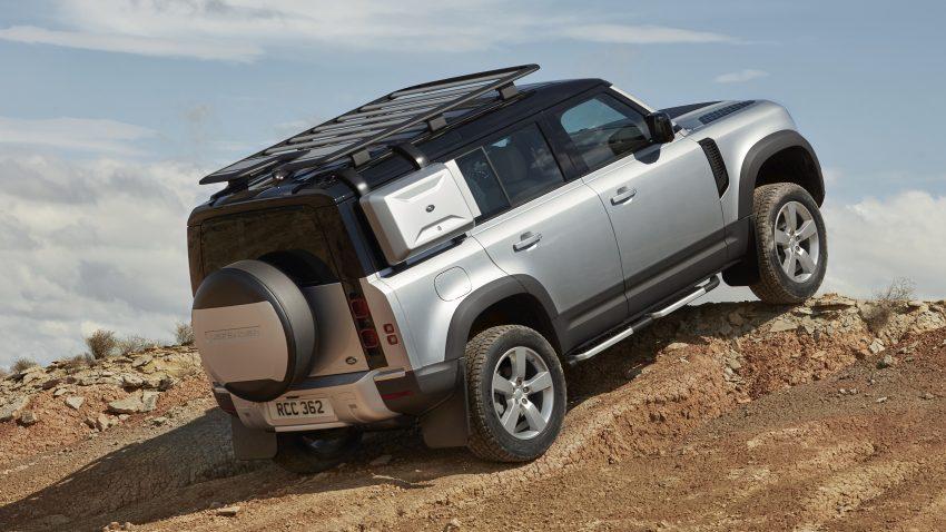 全新 Land Rover Defender 首发,全新外貌与科技内装 Image #105358