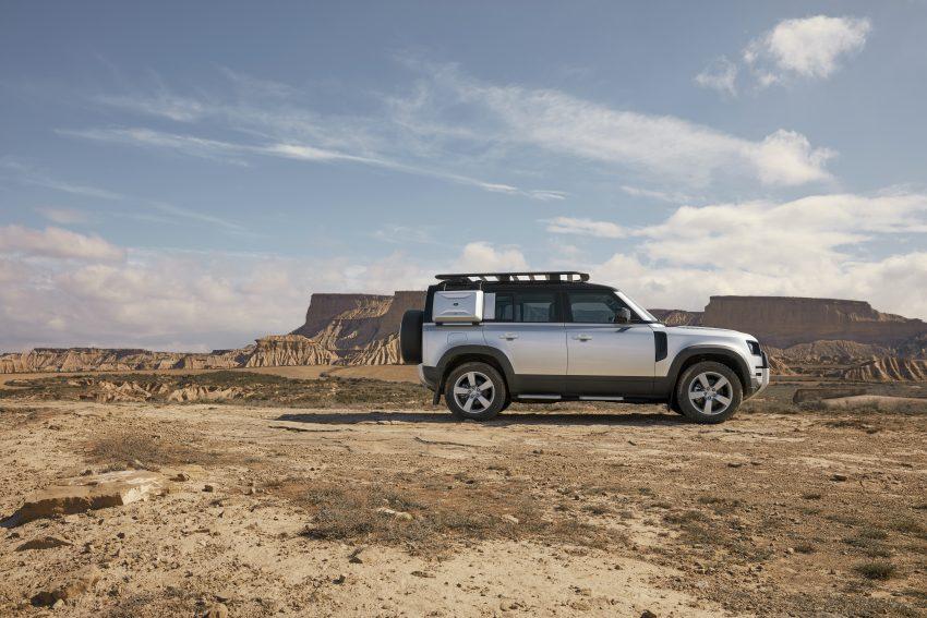 全新 Land Rover Defender 首发,全新外貌与科技内装 Image #105359