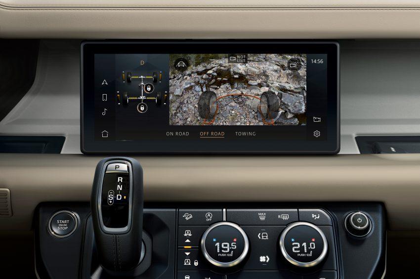全新 Land Rover Defender 首发,全新外貌与科技内装 Image #105368