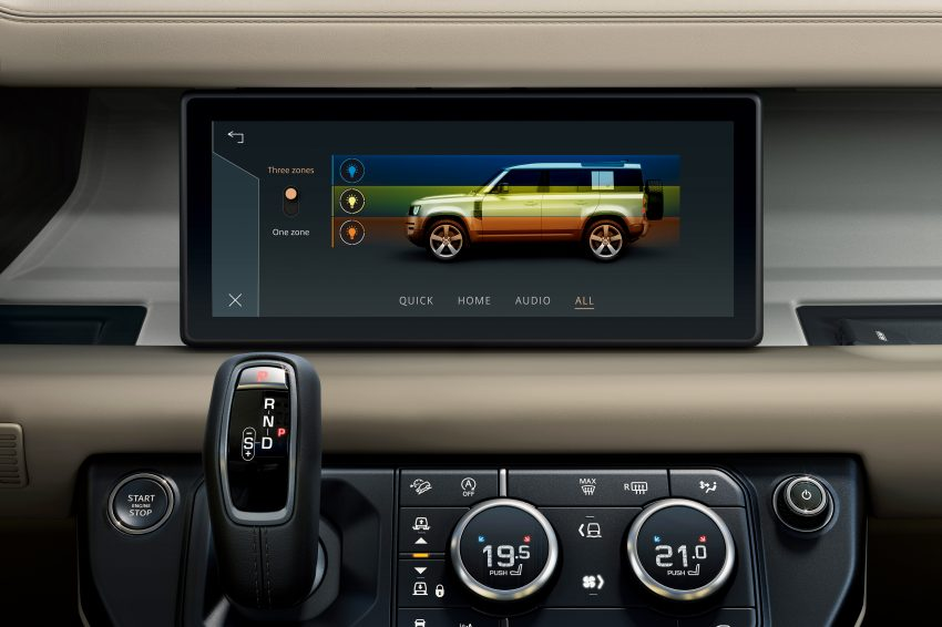 全新 Land Rover Defender 首发,全新外貌与科技内装 Image #105372