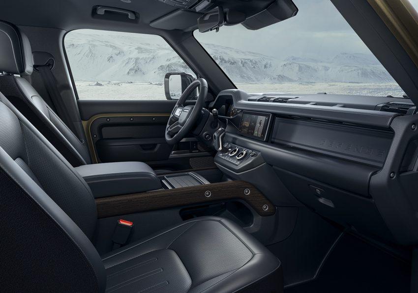 全新 Land Rover Defender 首发,全新外貌与科技内装 Image #105360