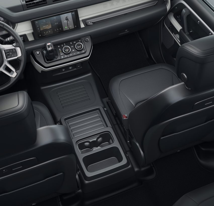 全新 Land Rover Defender 首发,全新外貌与科技内装 Image #105364