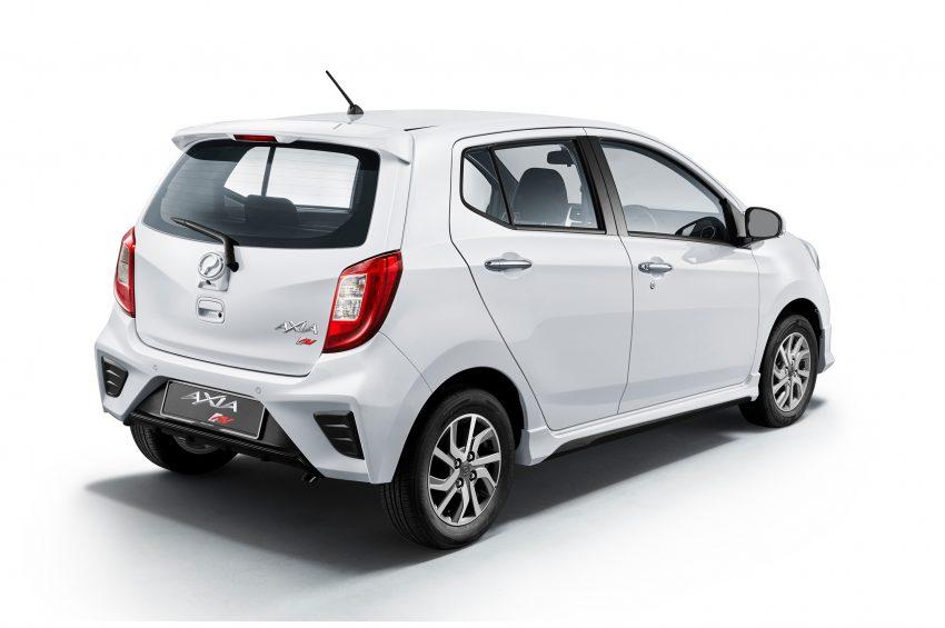 2019 Perodua Axia 小升级开售, VSC入列, 新增跨界等级 Image #106129