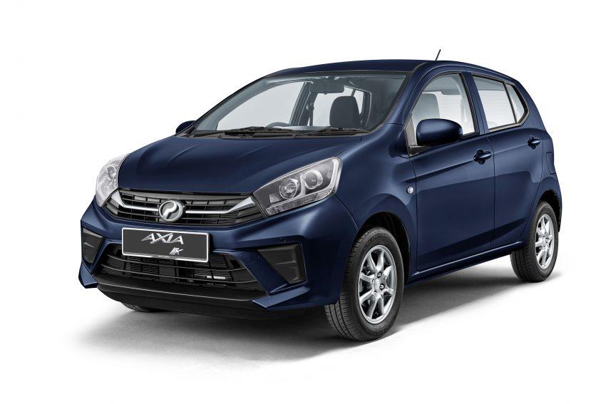 2019 Perodua Axia 小升级开售, VSC入列, 新增跨界等级 Image #106134