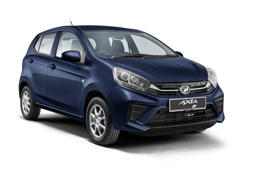 2019 Perodua Axia 小升级开售, VSC入列, 新增跨界等级 Image #106135