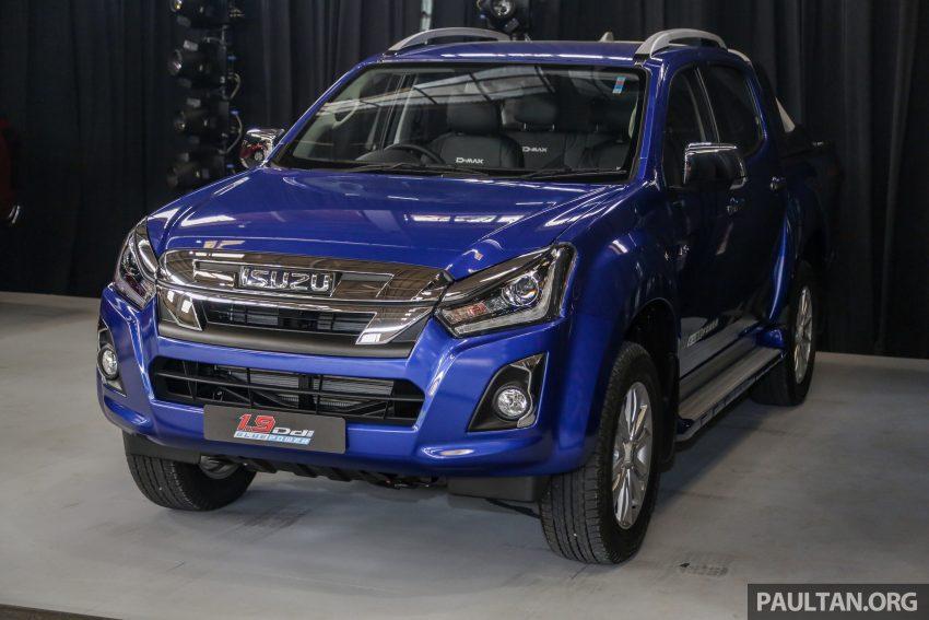 2019 Isuzu D-MAX 小改款正式发布,售价从RM80k起 Image #105884