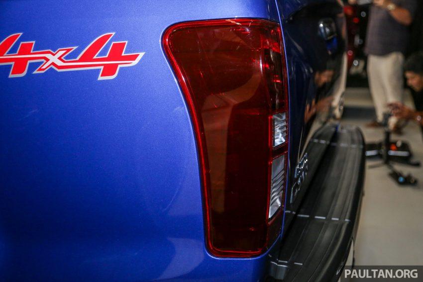 2019 Isuzu D-MAX 小改款正式发布,售价从RM80k起 Image #105906