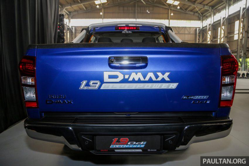 2019 Isuzu D-MAX 小改款正式发布,售价从RM80k起 Image #105886