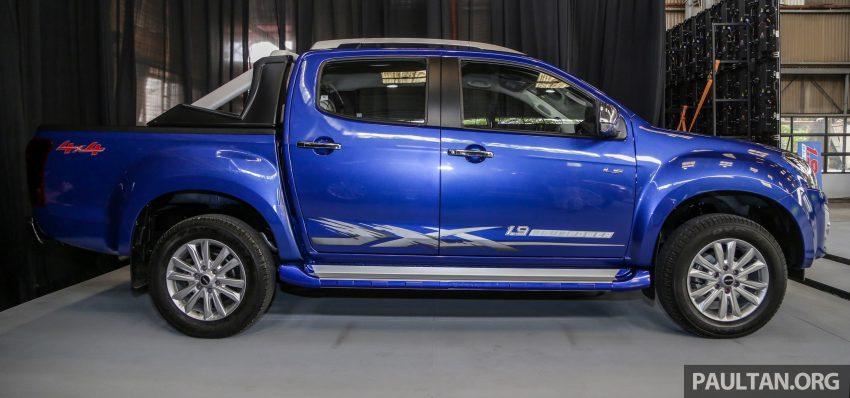 2019 Isuzu D-MAX 小改款正式发布,售价从RM80k起 Image #105887