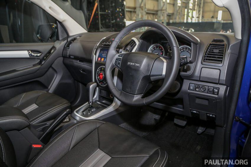 2019 Isuzu D-MAX 小改款正式发布,售价从RM80k起 Image #105917