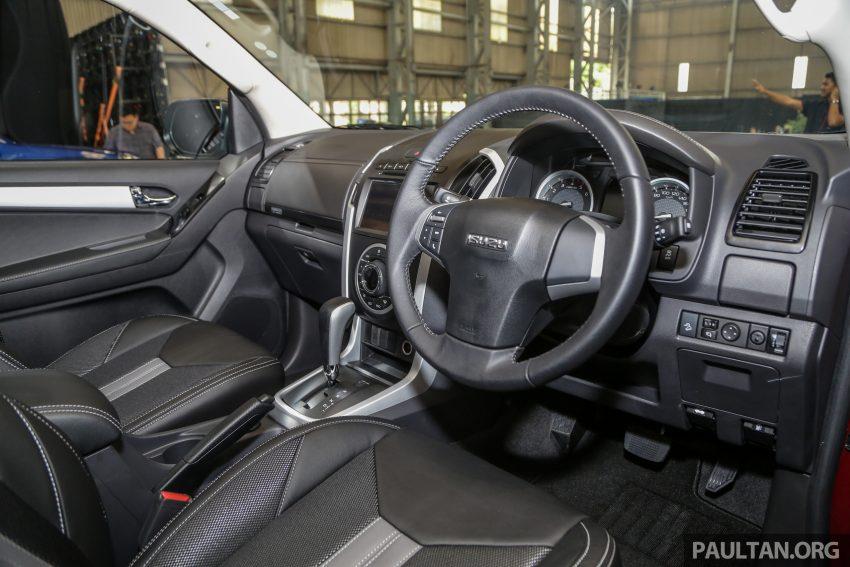 2019 Isuzu D-MAX 小改款正式发布,售价从RM80k起 Image #105977