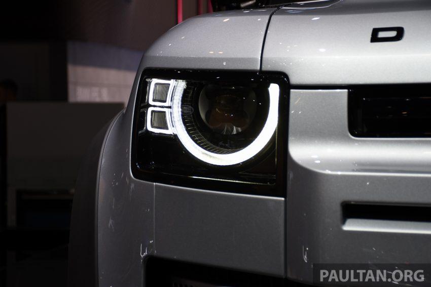 全新 Land Rover Defender 首发,全新外貌与科技内装 Image #105385