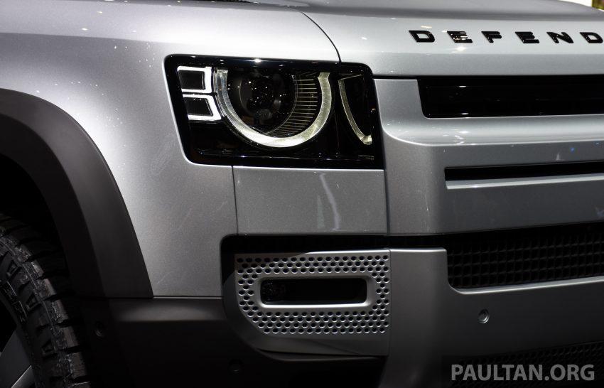全新 Land Rover Defender 首发,全新外貌与科技内装 Image #105376