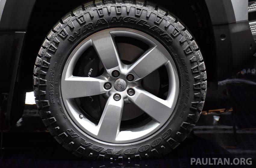 全新 Land Rover Defender 首发,全新外貌与科技内装 Image #105377