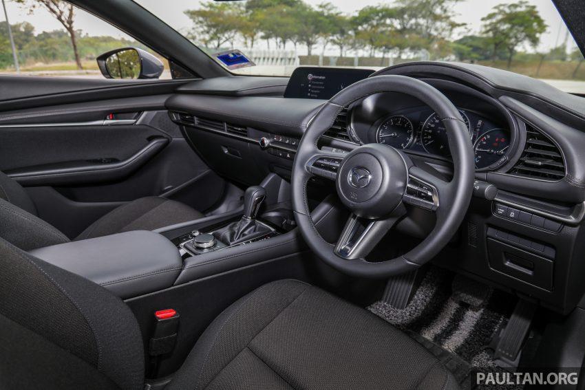 试驾:全新四代 Mazda 3,迄今最精致的非豪华品牌车型 Image #105760