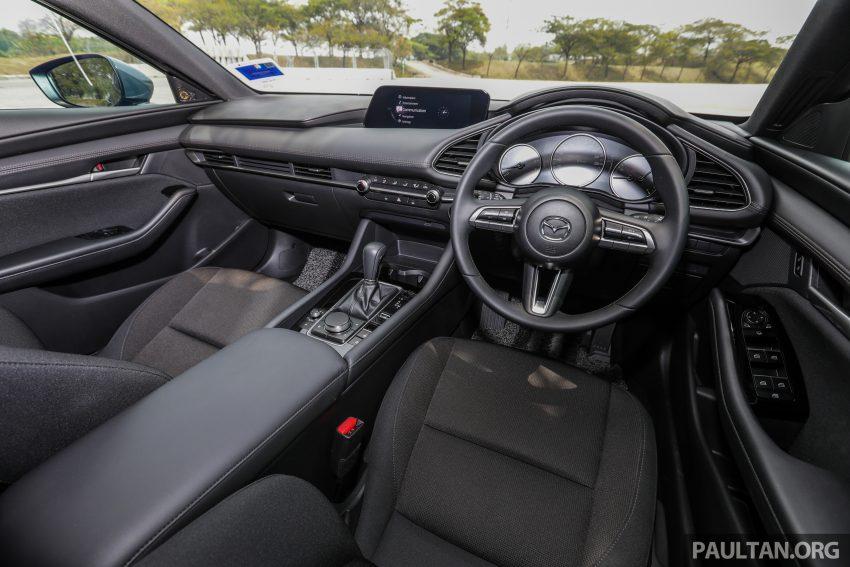 试驾:全新四代 Mazda 3,迄今最精致的非豪华品牌车型 Image #105787