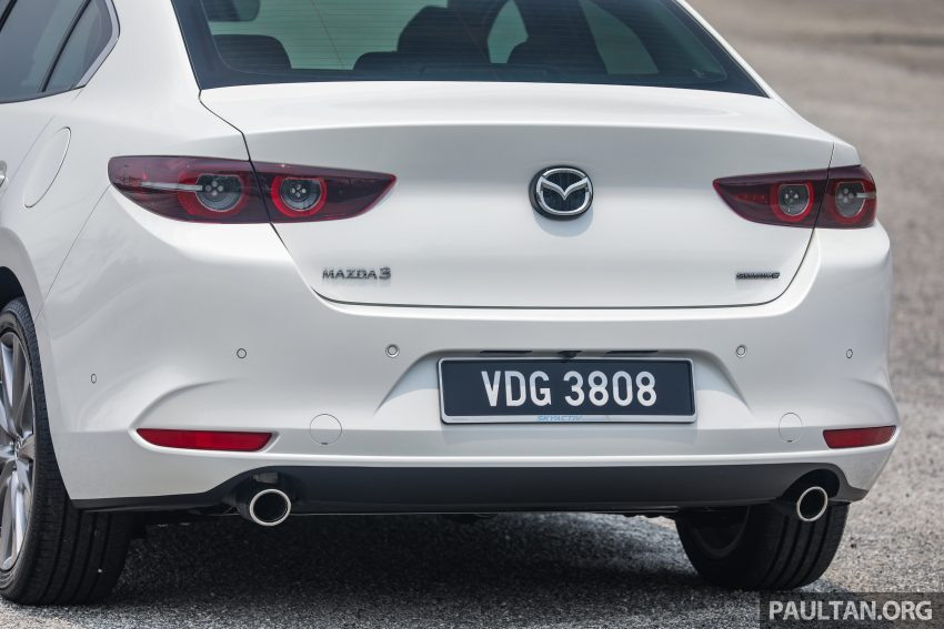 试驾:全新四代 Mazda 3,迄今最精致的非豪华品牌车型 Image #105660