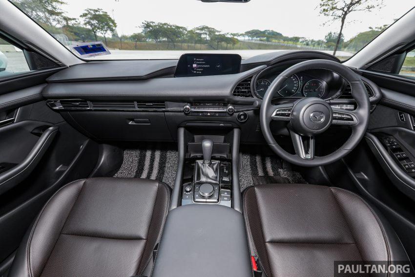 试驾:全新四代 Mazda 3,迄今最精致的非豪华品牌车型 Image #105670