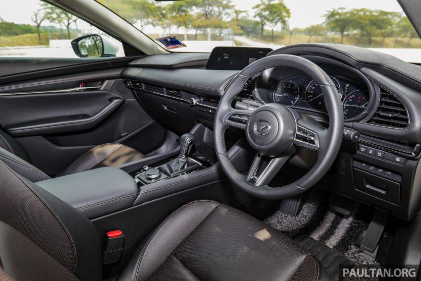 试驾:全新四代 Mazda 3,迄今最精致的非豪华品牌车型 Image #105671