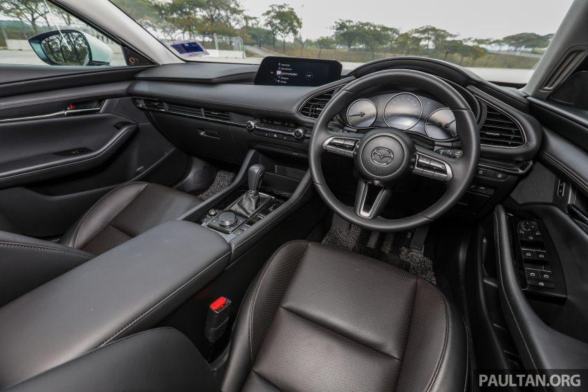 试驾:全新四代 Mazda 3,迄今最精致的非豪华品牌车型 Image #105700
