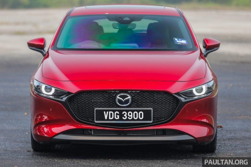 试驾:全新四代 Mazda 3,迄今最精致的非豪华品牌车型 Image #105517