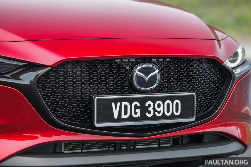 试驾:全新四代 Mazda 3,迄今最精致的非豪华品牌车型 Image #105525