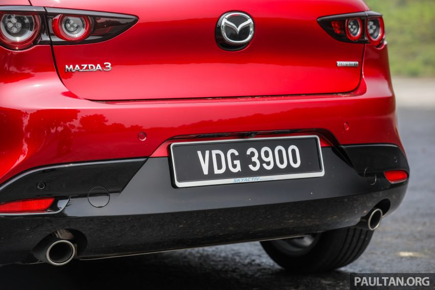 试驾:全新四代 Mazda 3,迄今最精致的非豪华品牌车型 Image #105540