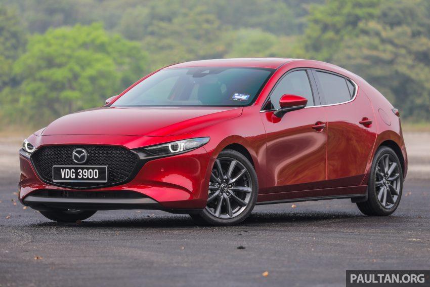 试驾:全新四代 Mazda 3,迄今最精致的非豪华品牌车型 Image #105510